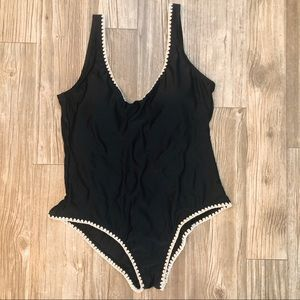 Mossimo Supply Co. One-Piece Open Back Swimsuit XL
